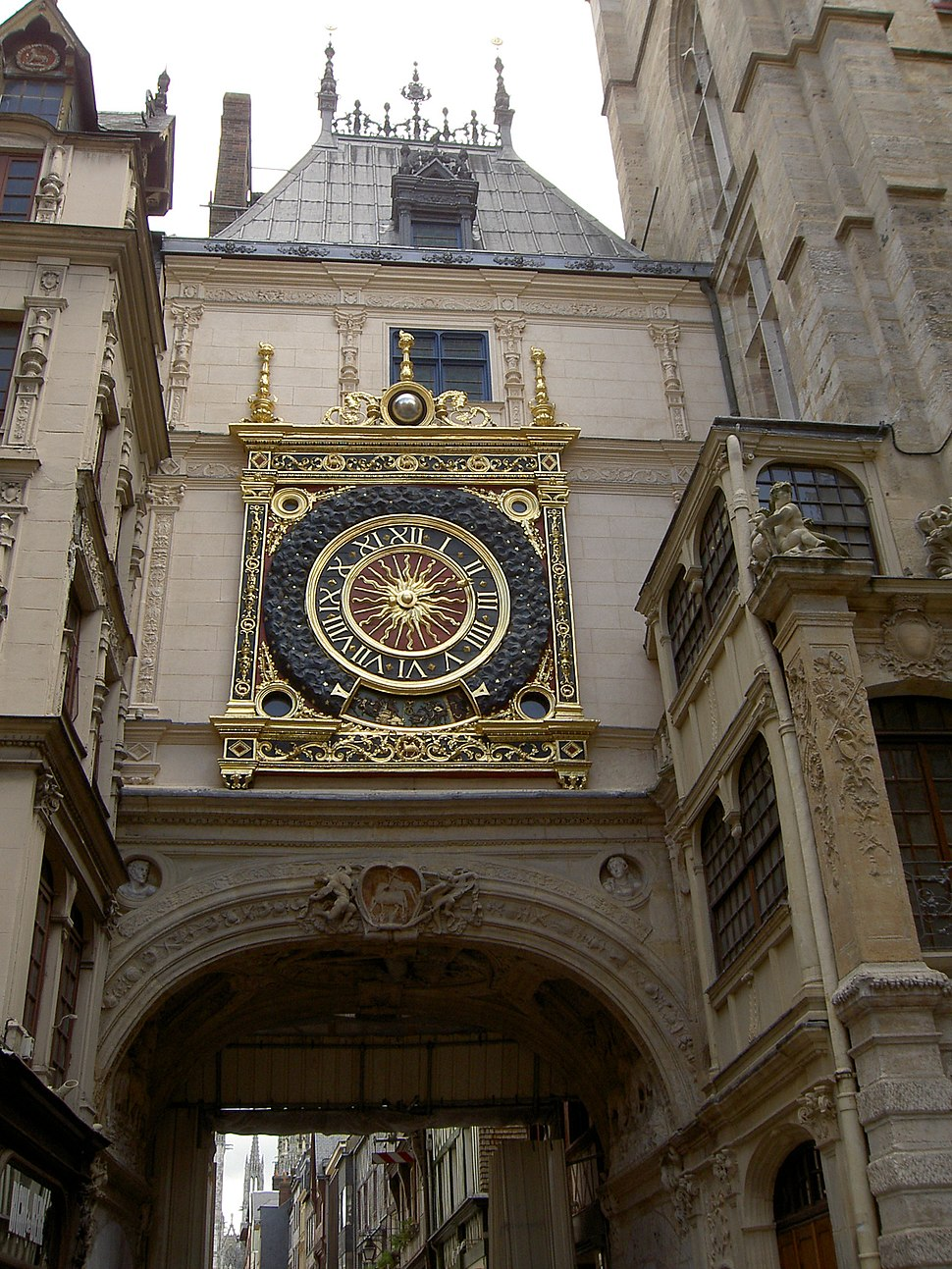 Le Gros Horloge, Rouen, Normandy
