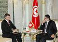 Le Ministre des Affaires Etrangères reçoit M. Gordon Gray, Ambassadeur des Etats-Unis d'Amérique à Tunis - Flickr - Ministère Tunisien des Affaires Etrangères.jpg