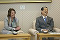 Leader Pelosi and Members of Congressional Delegation Meet Japan's House Speaker Machimura (17062040952).jpg