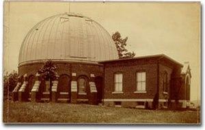 McCormick Observatory - Leander McCormick Observatory in 1890
