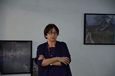 Lecture of Milena Dragicevic Sesic in Minsk 5.02.2015 05.JPG