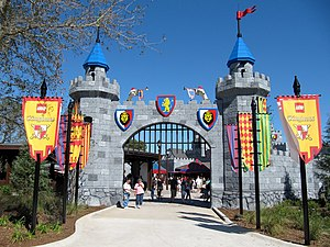 Legoland Florida - Lego Kingdoms