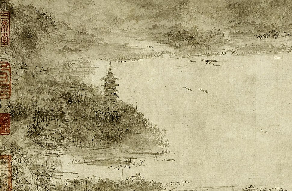 Leifeng Pagoda in the Southern Song Dynasty by Li Song