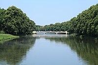 Leipzig - Elsterflutbett + Sachsenbrücke (Rennbahnsteg) 01 ies.jpg