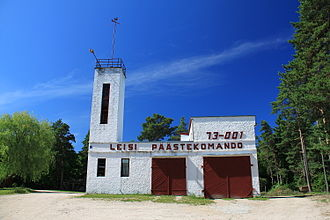 Leisi - Leisi fire station
