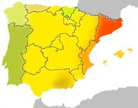 Mapa Lenguas De España.Idiomas De Espana Wikipedia La Enciclopedia Libre