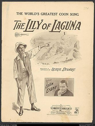 "Leslie Stuart - Sheet music for ""Lily of Laguna"", 1898"