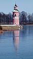 Leuchtturm am Großteich Moritzburg 12.JPG