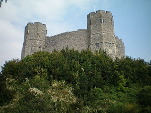Rape of Lewes - The keep of Lewes Castle, once the administrative centre of the Rape