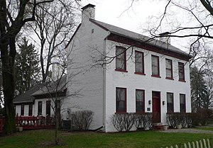 Center Township, Wayne County, Indiana - The Lewis Jones House, a historic place located in Center Township