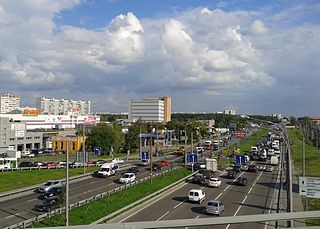 Lianozovo District District in federal city of Moscow, Russia