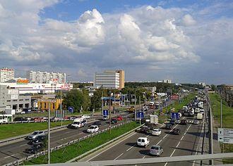 Lianozovo District - Lianozovsky Passage in Lianozovo District