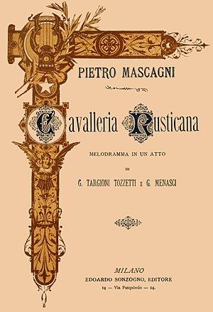 Pietro Mascagni's