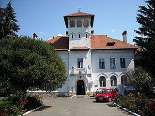 Geoagiu Town in Hunedoara, Romania