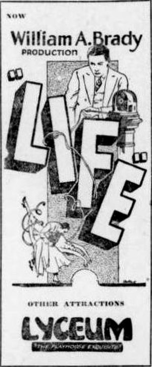 Life (1920 film) - Newspaper ad