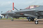 Lightnings on parade! (F-35A '12-5052' & F-35B '168726') (35813052361).jpg