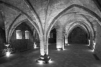 10: Cellarium (cellar) at Lilienfeld AbbeyAuthor: Bwag