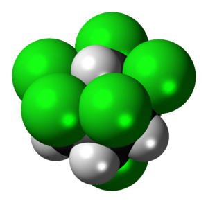 Lindane (chair) molecule spacefill.png