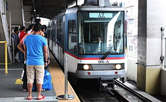 Manila Metro Rail Transit System Line 3 - Taft Avenue station platform area