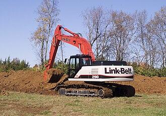 Excavator - Image: Link Belt 290X2Excavator