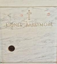 Lionel Barrymore Grave.JPG