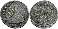 Lira Tron (nach dem Dogen Niccolò Tron (1471-73)
