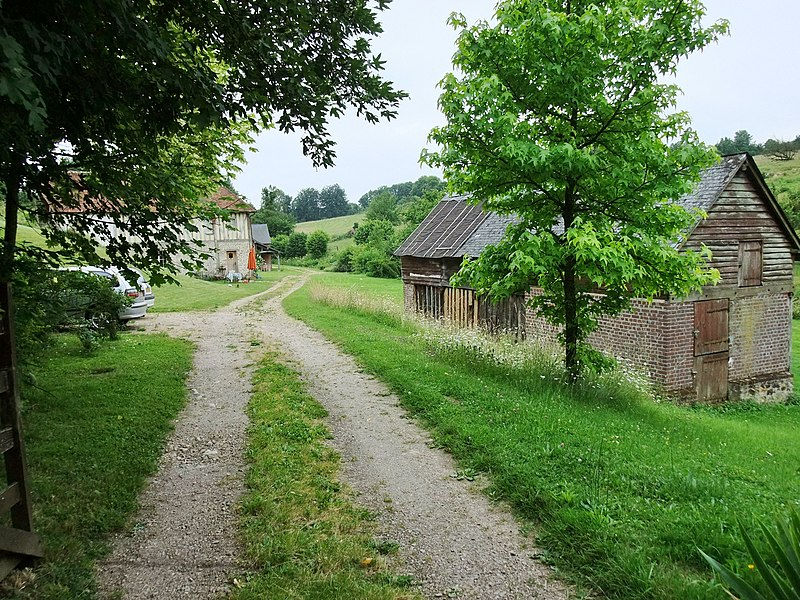 Landscape near Lisieux, France