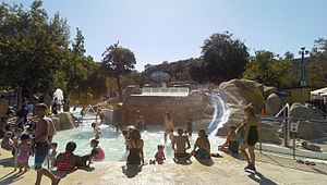 """Raging Waters - """"Little Dipper Lagoon"""", another play area for children, at Raging Waters San Dimas"""