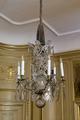 Ljuskrona i sängkammaren. 1700- tal - Hallwylska museet - 106948.tif