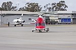 Lloyd Off-Shore Helicopters (VH-SYZ) AgustaWestland AW139 taxiing at Wagga Wagga Airport (1).jpg
