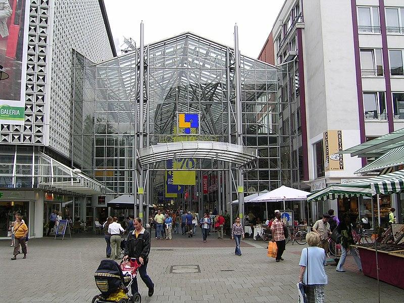 Lloyd Passage - Hall de la fama de Bremen - Pasillo comercial cubierto en el centro de Bremen.