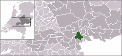 Location of Lingewaard