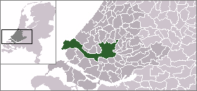 Location in South Holland