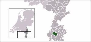 Berg en Terblijt - Image: Locatie Valkenburg Aan De Geul