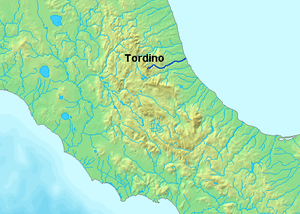Tordino - Image: Location Tordino River
