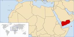 Yemen - Localizzazione