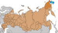 Location Anadyr Map of Russian subjects, 2008-03-01.png