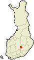 Location of Kangasniemi in Finland.png