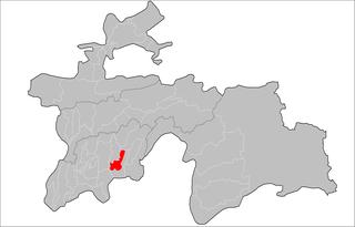 Vose District Place in Khatlon Region, Tajikistan