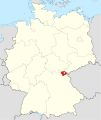 Locator map HO in Germany.svg