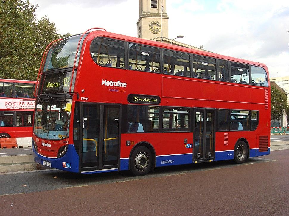 London Bus route 139 A