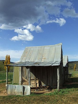 Burra, New South Wales - London Bridge Homestead, an early Burra residence now contained within the Googong Foreshores.