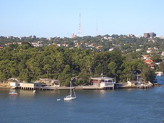 Longueville, New South Wales - View from Hunters Hill