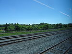 Looking out the left window on a trip from Union to Pearson, 2015 06 06 A (402) (18638860932).jpg
