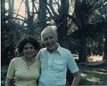Lorraine and Gunnar Johansen, Gualala, California (1985).jpg