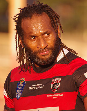 Lote Tuqiri - Tuqiri playing for North Sydney Bears in 2014