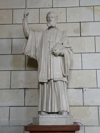Jean-Charles Cornay - Statue of Jean-Charles Cornay, in the church of Saint-Pierre du Marché, Loudun.