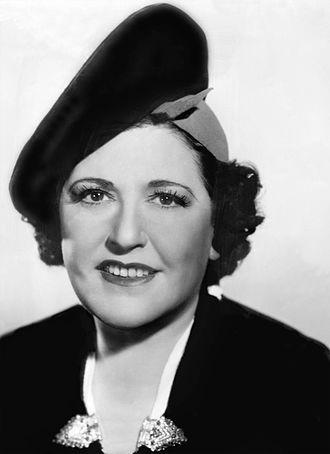 Gossip columnist - Louella Parsons (1937)