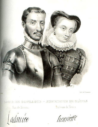 Henriette of Cleves - Henriette and her husband, Louis I Gonzaga