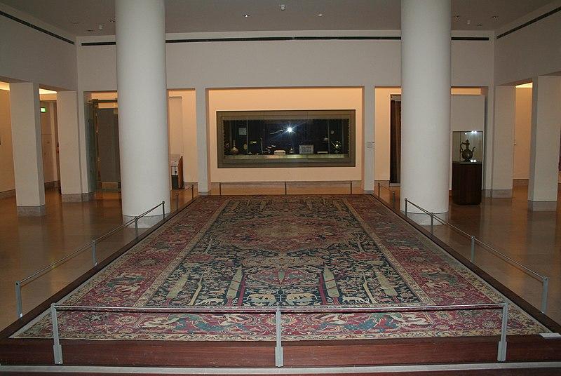 file louvre tapis d cor de jardin de paradis dit. Black Bedroom Furniture Sets. Home Design Ideas